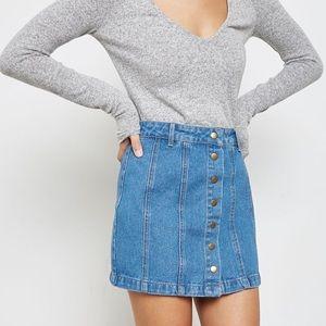 2/$60 🐚 Forever 21 A-line Denim Skirt
